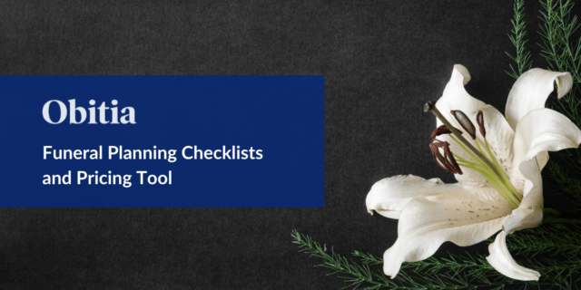 Funeral Planning Checklists and Pricing Tool